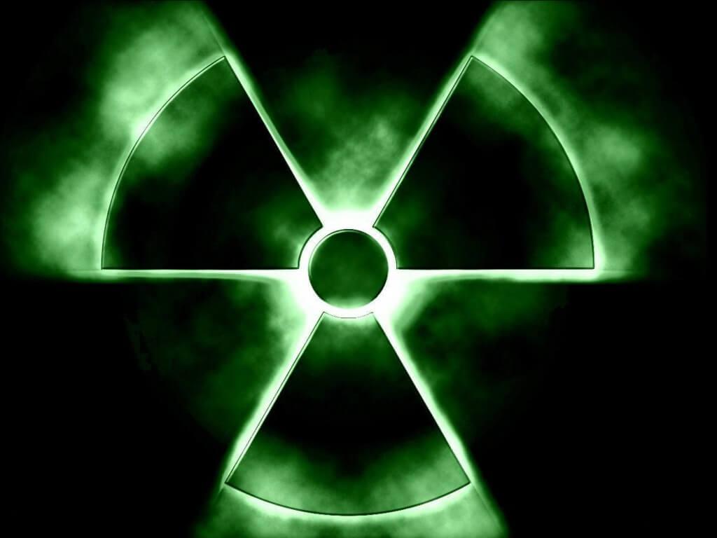 Знак ядерной реакции