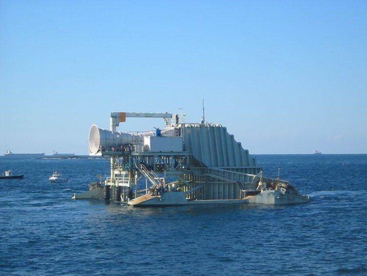 Волновая электростанция Oceanlinx