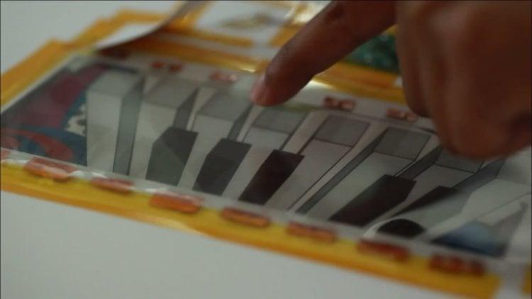 Напечатанное электрическое пианино