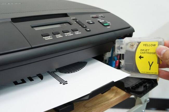 Печатная плата в процессе изготовления