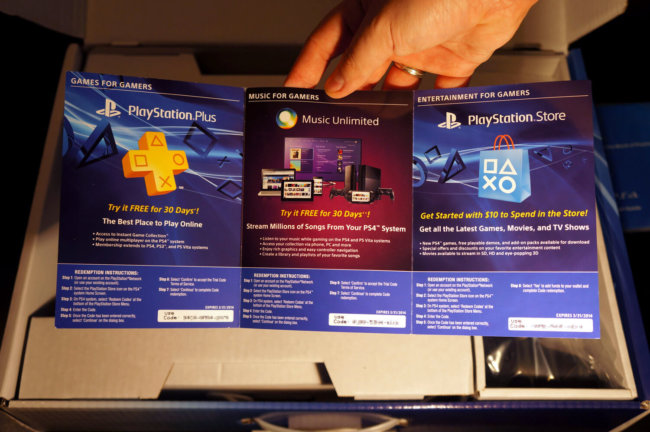 Анбоксинг PS4