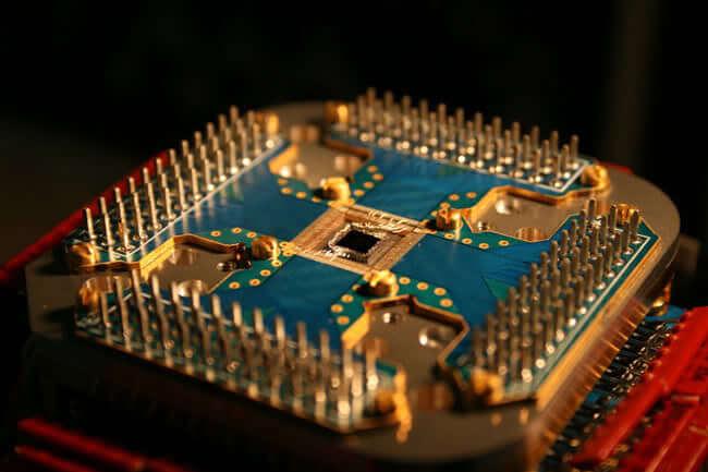 Прототип шины передачи данных в квантовых компьютерах