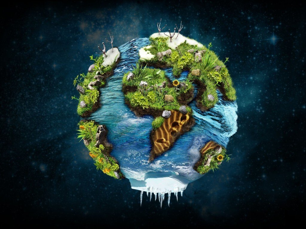 Планета, на которой есть жизнь