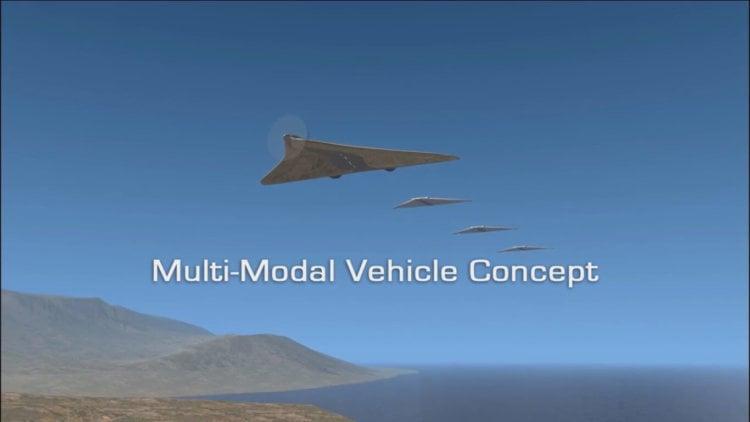 Multi-Modal Vehicle беспилотник трансформер