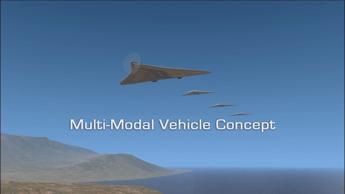 Multi-Modal Vehicle беспилотник трансформер
