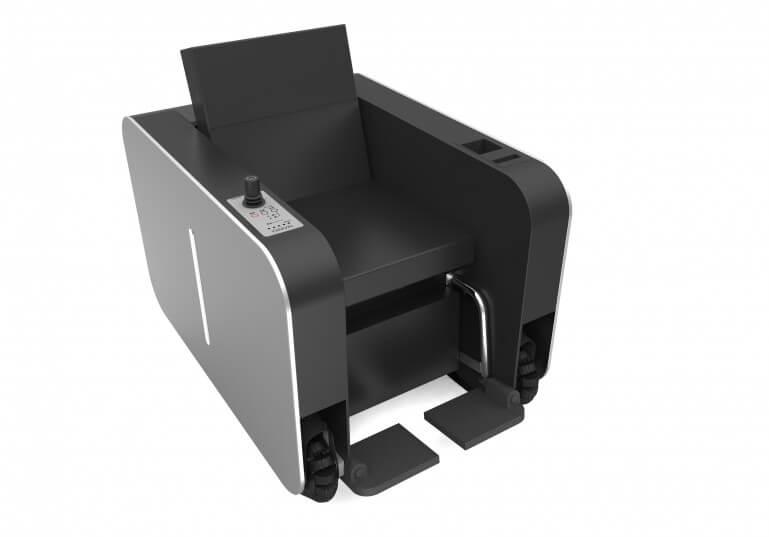 Многие из тех кто видел это «кресло» своими глазами отметили, что в какой то степени, оно напоминает MacBook Pro