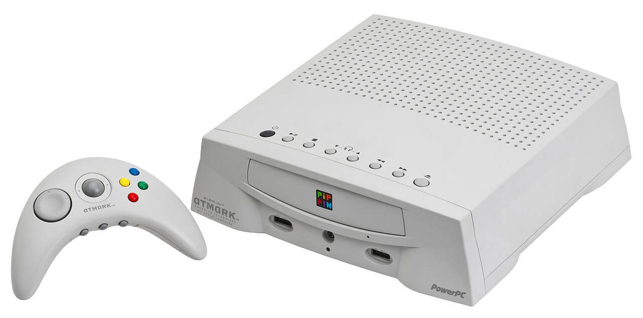 Pippin - консоль выпускалась по лицензии Apple различными сторонними компаниями