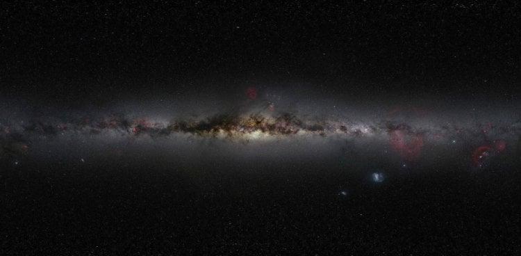 Самая большая фотография звёздного неба