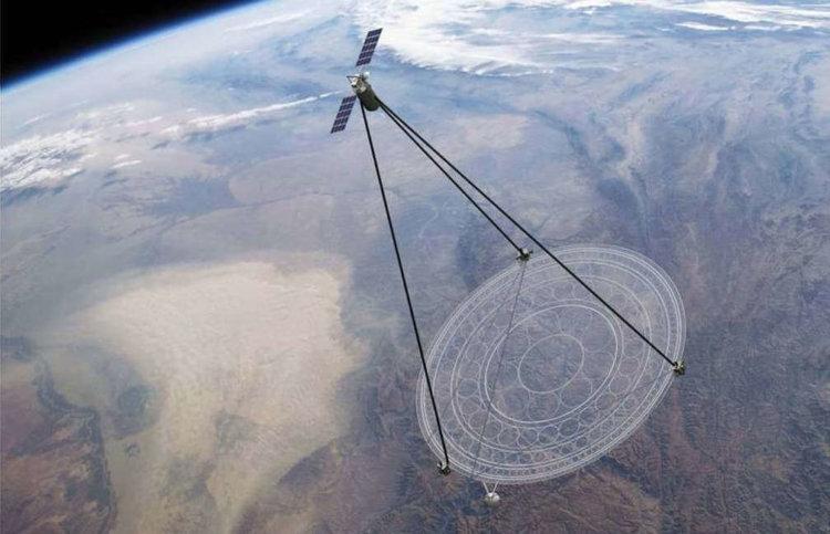 Мембранный телескоп