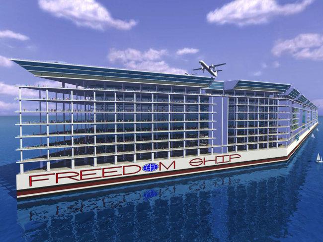 Freedom Ship - первый плавучий город
