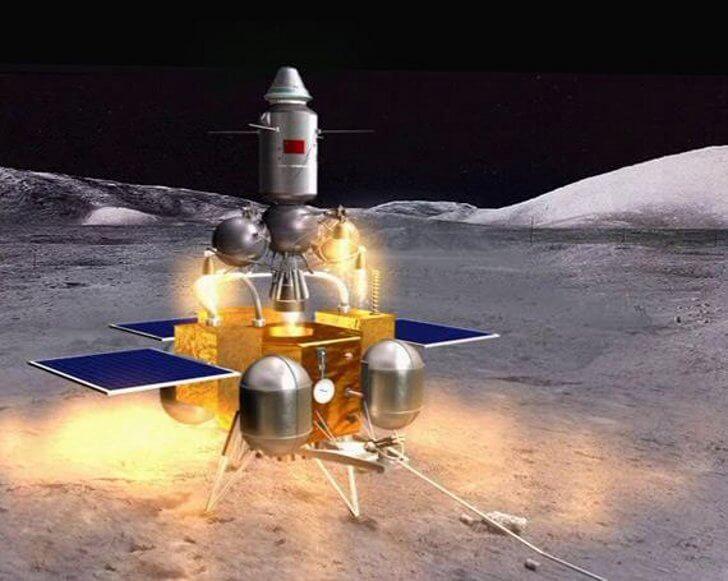 Китай продолжает лунную программу (3 фото)