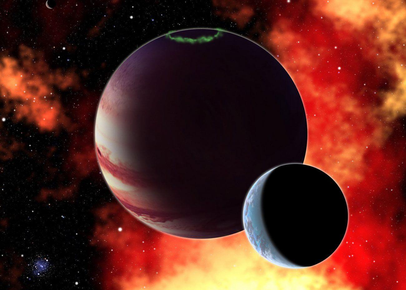 Астрономами обнаружена экзолуна