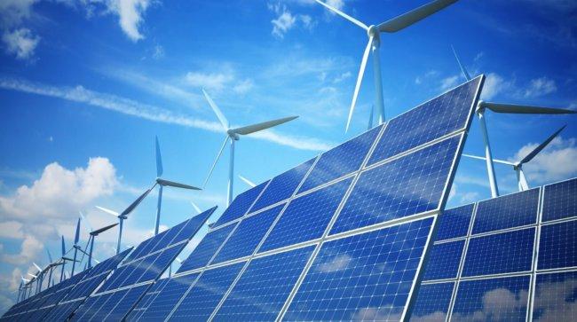 Ветряная и солнечная электростанция