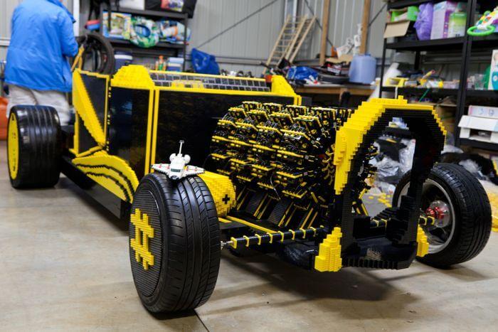 Как собрать внедорожник из LEGO - YouTube