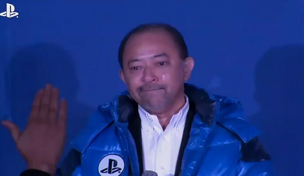 Директор подразделения Sony в Южной Корее не удержался и пустил слезу