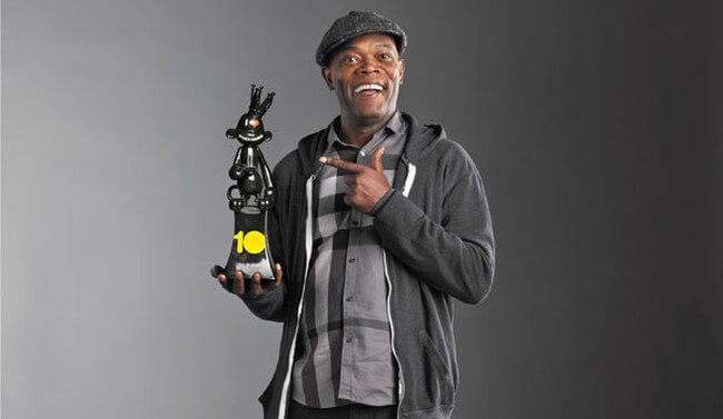 Самюэл Джексон вёл VGX аж четыре раза
