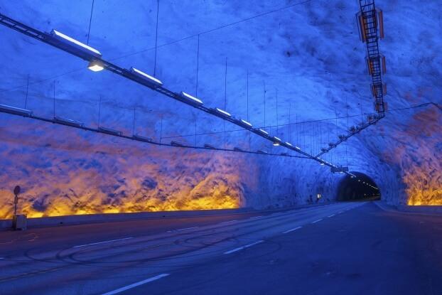Туннель Лаэрдаля
