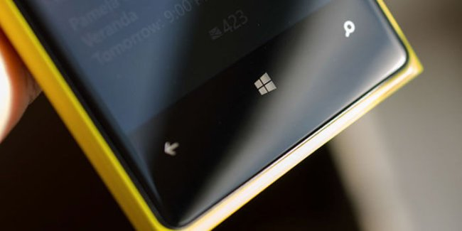 Кнопки Windows Phone