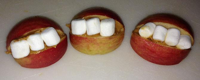 Яблочный смайлик
