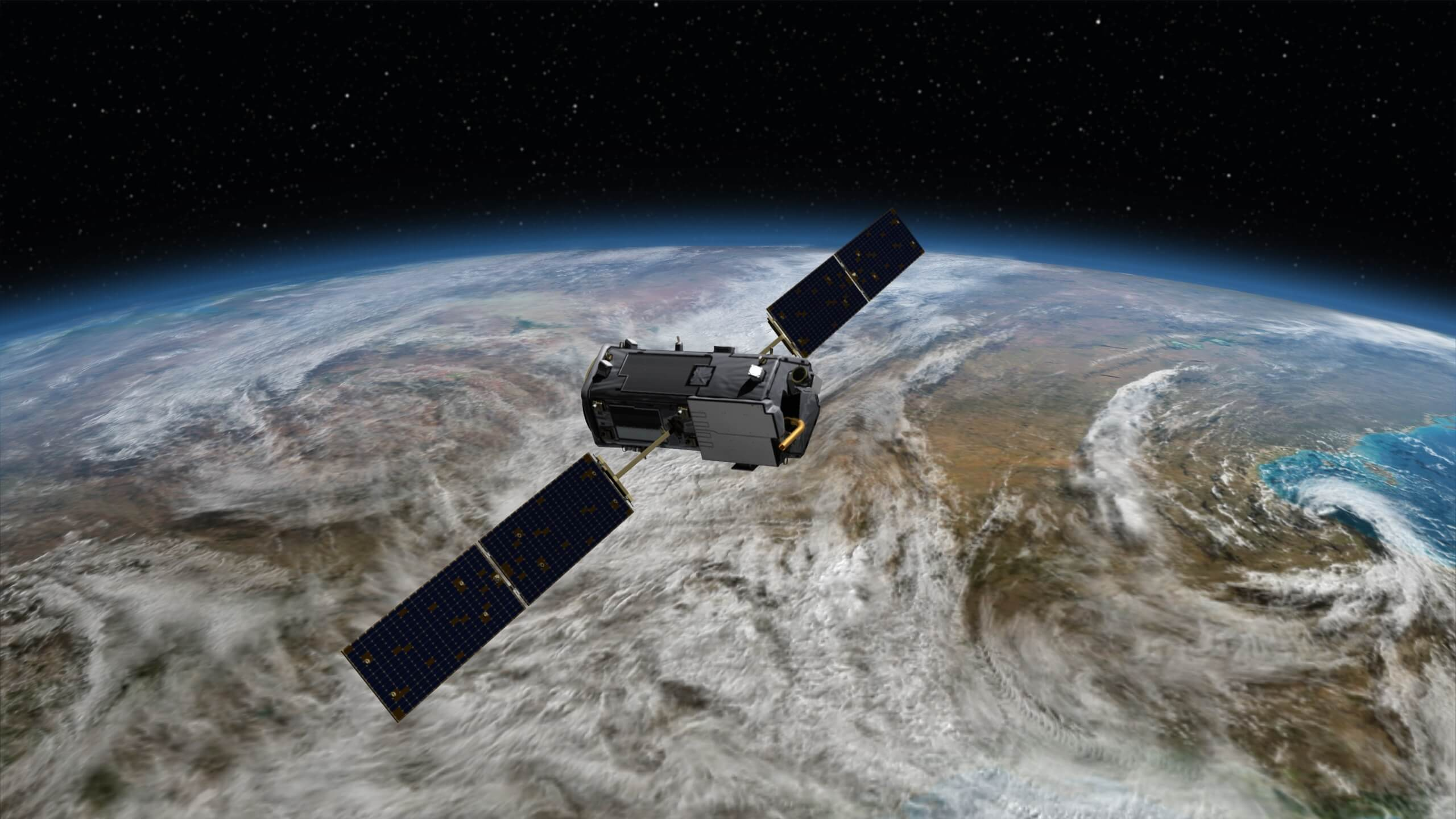 planet earth satellite