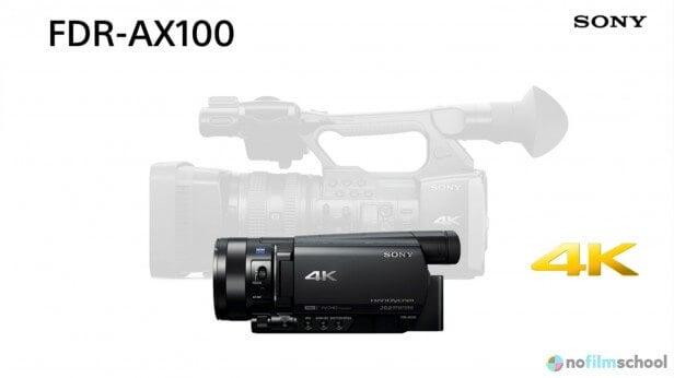 Sony-FDR-AX1-AX100-Comparison