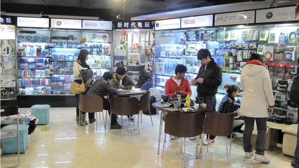Серый рынок игровых консолей в Китае