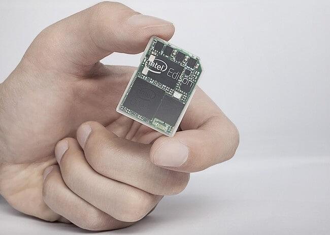 Edison - крошечный компьютер от Intel