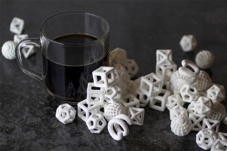 Сахарные фигуры напечатанные на ChefJet