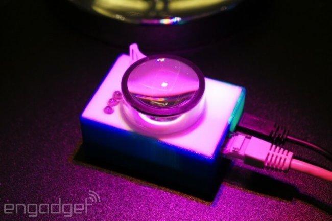 Li-Fi в мобильном устройстве