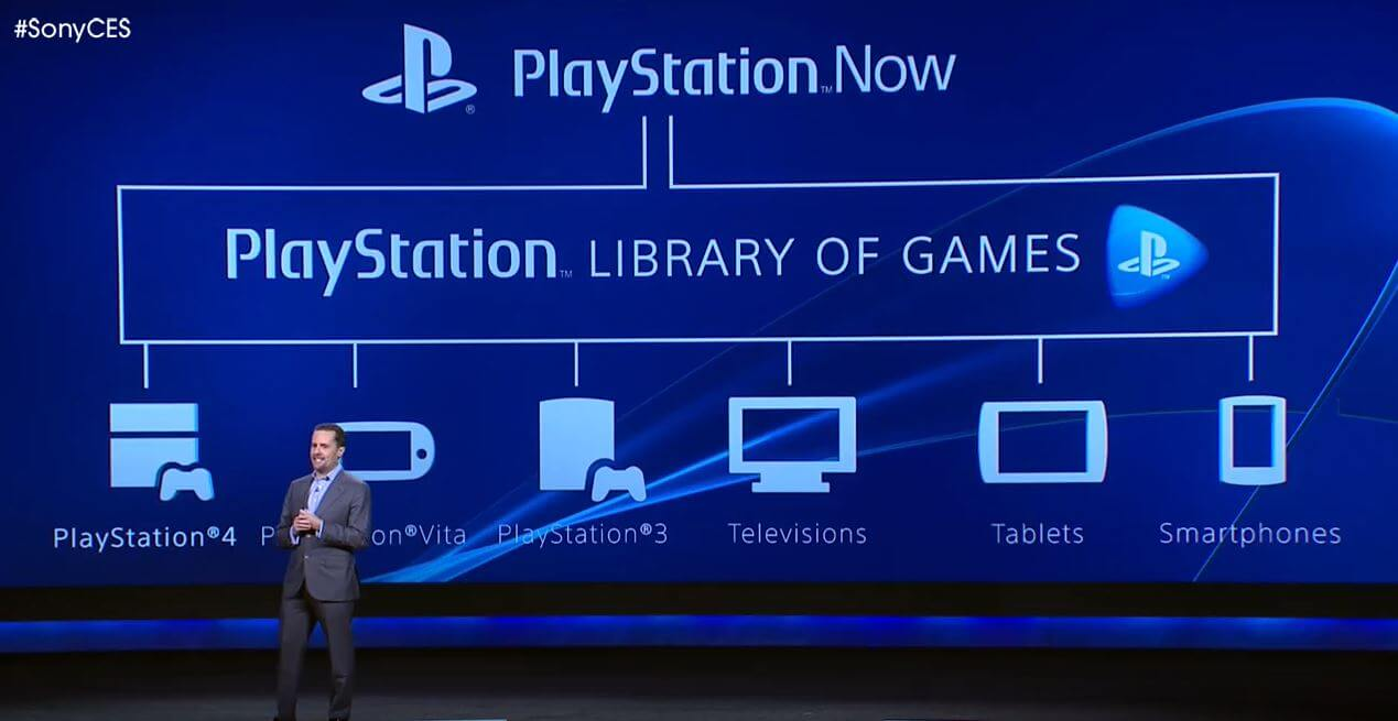 Сервис PlayStation Now