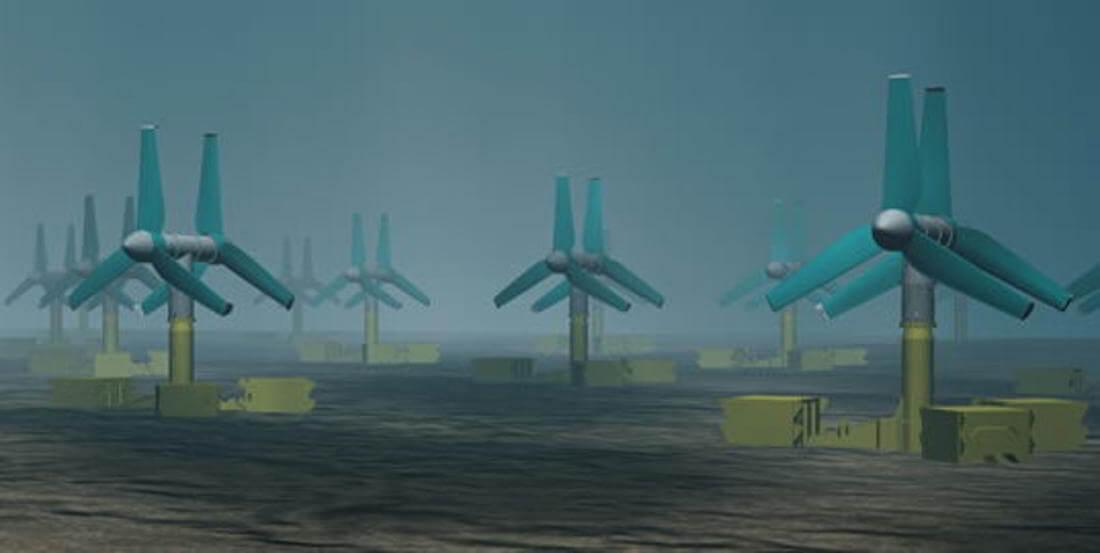 Приливные турбины