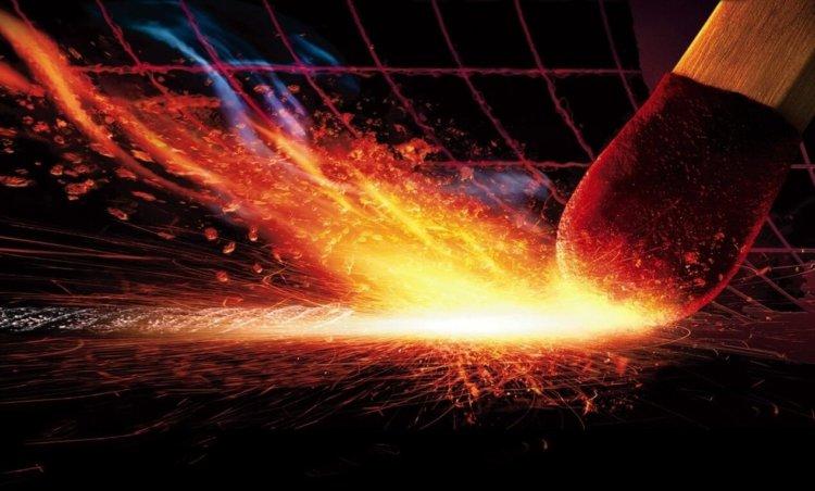 Возгорание спички, снятое с частотой 4000 кадров в секунду