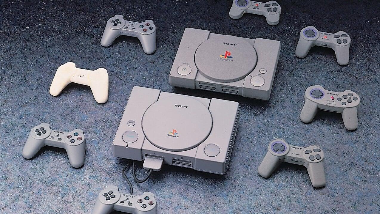 Поздние прототипы первой PlayStation и игровых контроллеров