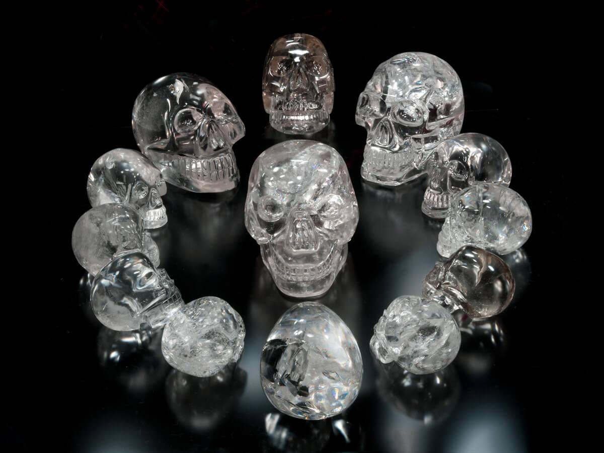 Кристальные черепа, найденные в руинах племени Майя