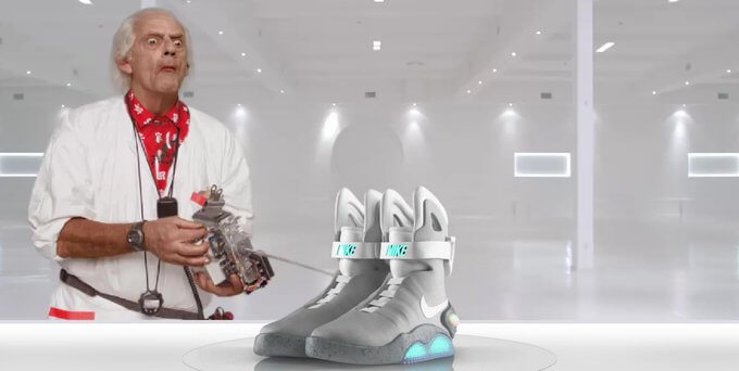 Nike Air Mag могут появиться в 2015 году