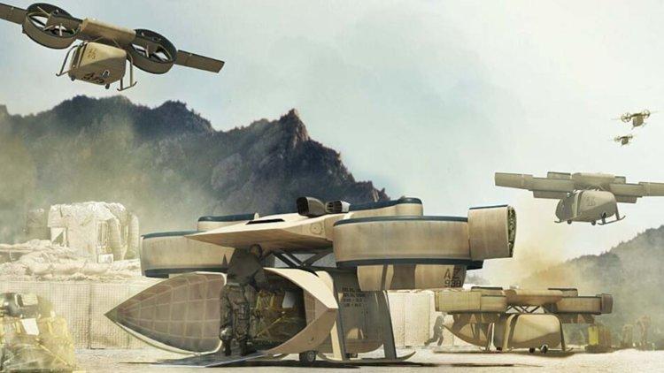 DARPA разрабатывает военных беспилотников