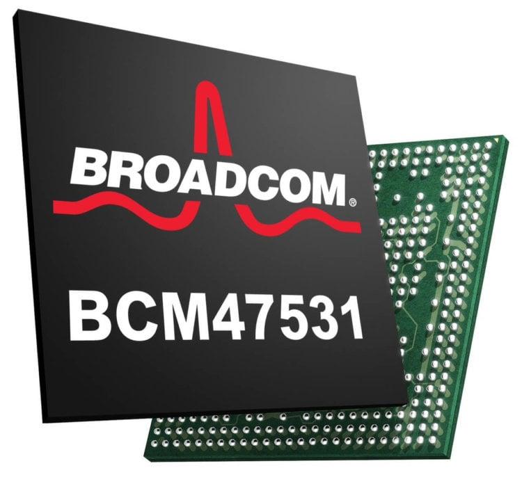 Новый чип от Broadcom