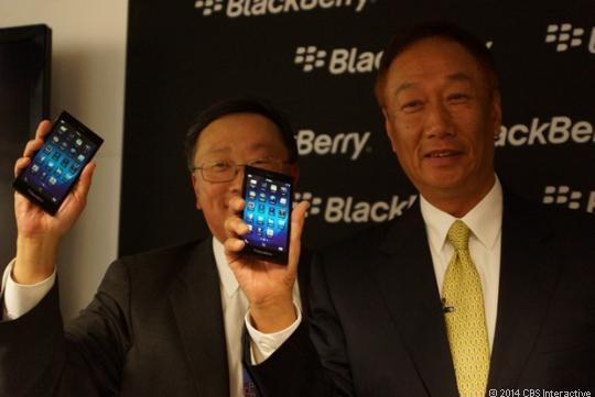 BlackBerry Q20 и Z3