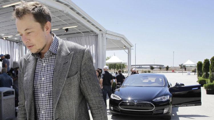 Глава Tesla Элон Маск