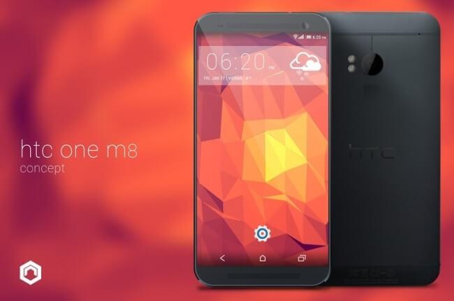 Концепт HTC M8