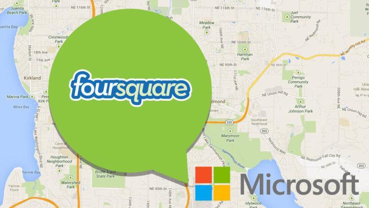 Microsoft Foursquare