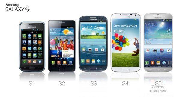 Серия смартфонов Samsung Galaxy S