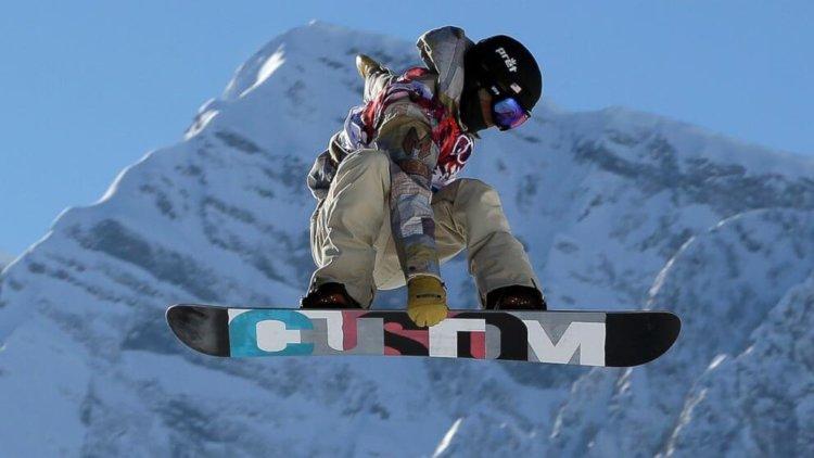 Сноубордист в Сочи