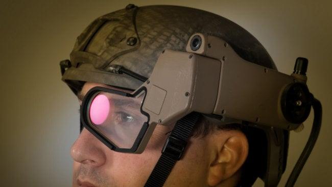 Дополнительная реальность для военных с Q-Warrior