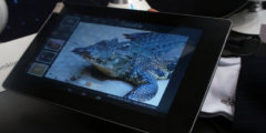 Fujitsu Haptic Sensory Tablet