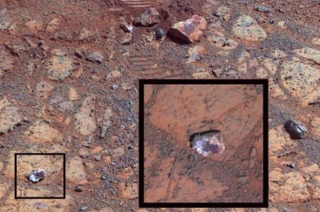Марсианский камень