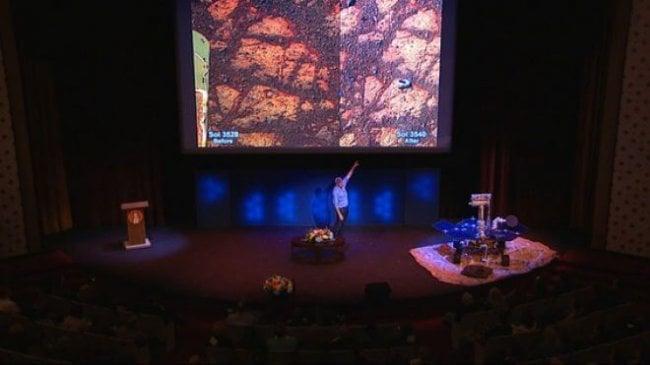 Тайна странствующего по Марсу камня раскрыта ( 2 фото)