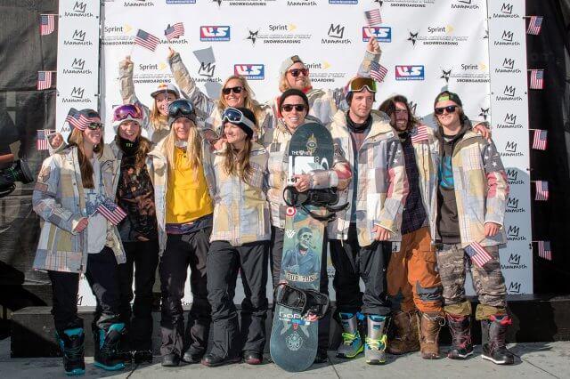 Сборная олимпийских сноубордистов США