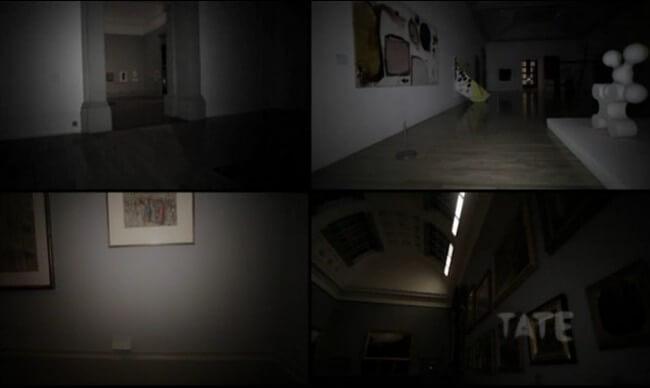 Ночное путешествие по музею Tate Britain