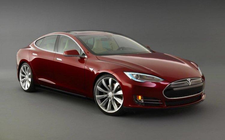 Автомобиль компании Tesla